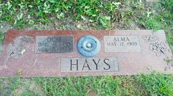 Alma Gene <i>Needham</i> Hays