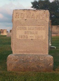 John Madison Rowan