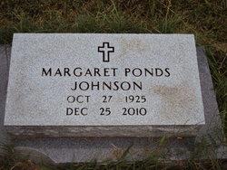 Margaret L <i>Ponds</i> Johnson