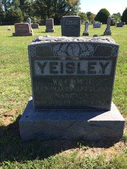 Nancy Jane <i>Garber</i> Yeisley