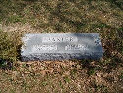 Margaret Sarah <i>Chandler</i> Baxter