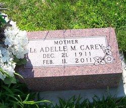 LeAdelle M. <i>Metzel</i> Carey