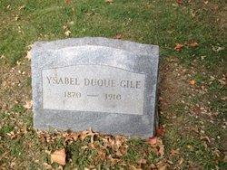 Ysabel <i>Duque</i> Gile