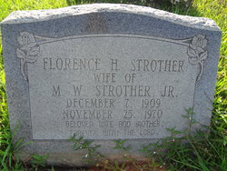 Florence <i>Hadnot</i> Strother