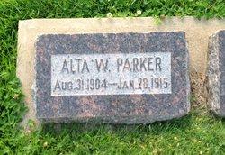 Alta Wadsworth Parker