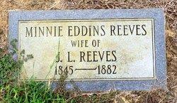 Minnie <i>Eddins</i> Reeves