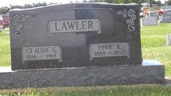 Effie Katherine <i>Woods</i> Lawler