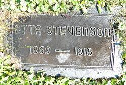 Etta Maria <i>Norman</i> Stevenson