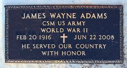 James Wayne Adams