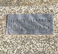 Mary M. <i>Harms</i> Adams