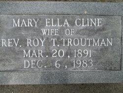 Mary <i>Cline</i> Troutman