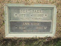 Albert Bert Baer