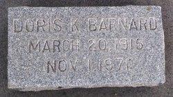 Doris Katherine Barnard