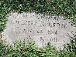 Mildred Katie <i>Berwager</i> Grote