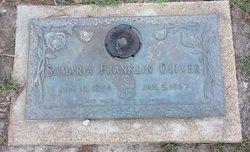 Samaria Franklin Samarie Oliver