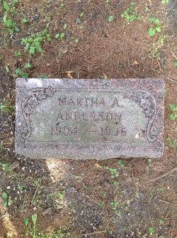 Martha A. <i>Nelson</i> Anderson