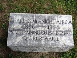Pvt Charles McKnight Africa