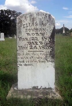 Elias William Bowman