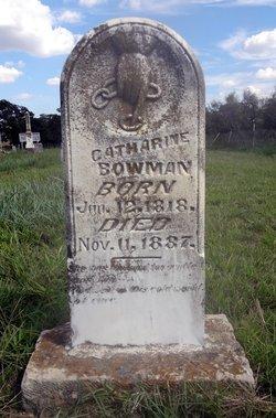 Mary Catherine <i>Howell</i> Bowman