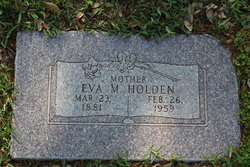 Margaret Eva <i>Waters</i> Holden