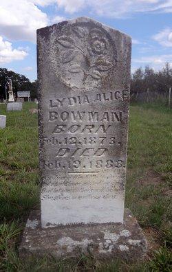Lydia Alice Bowman