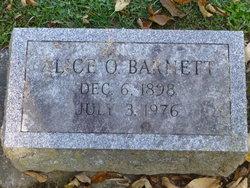 Alice Olive <i>Alger</i> Barnett