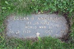 Edgar F Anderson