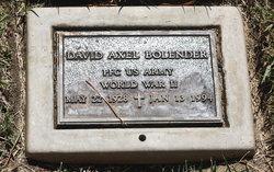 David Axel Bolender