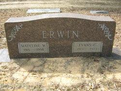 Madeline Elizabeth <i>Williams</i> Erwin