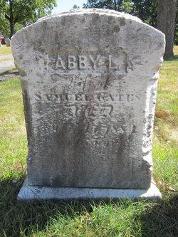 Abby L. <i>Chase</i> Gates