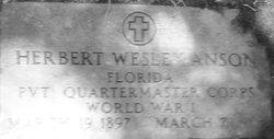 Herbert Wesley Anson