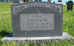 Lona <i>Crouch</i> Davidson