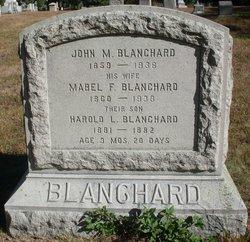 Mabel Florence <i>Shaw</i> Blanchard