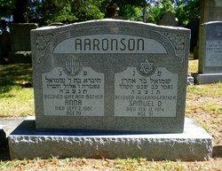 Anna <i>Cohen</i> Aaronson