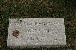 Elizabeth Tipton <i>Johnson</i> Campbell