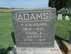 Mary E. <i>Isgrigg</i> Adams