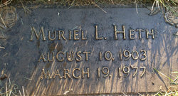 Muriel Lucille <i>Walley</i> Heth