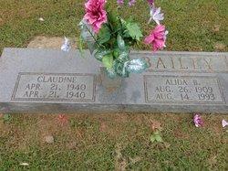 Alida B. <i>Churchwell</i> Bailey