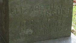 Elizabeth J Archer