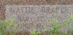 Martha Jane Mattie <i>Trimble</i> Draper