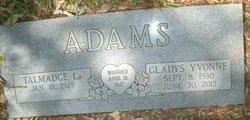 Gladys Yvonne <i>Pattillo</i> Adams