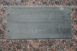 Gary Aldridge