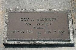 Pvt Coy A. Aldridge
