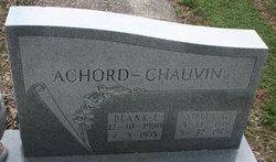 Blank E. Achord-Chauvin