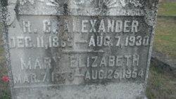 R C Alexander