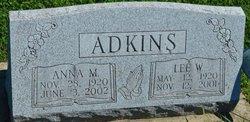 Anna Mae <i>Cook</i> Adkins