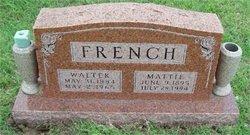 Mattie <i>Byars</i> French