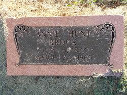Annie <i>Hunt</i> Brock