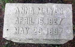 Anna W Lyon