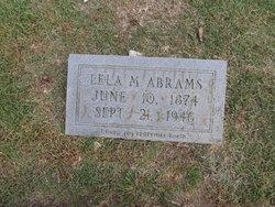 Lela M. <i>Phillips</i> Abrams
